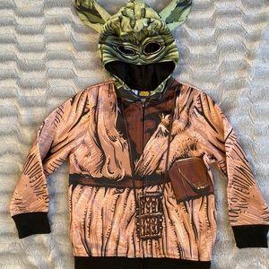 Kids Star Wars Zipper Hoodie.